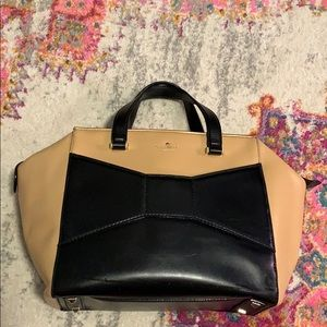 Kate Spade Bow Tote with Zip Closure
